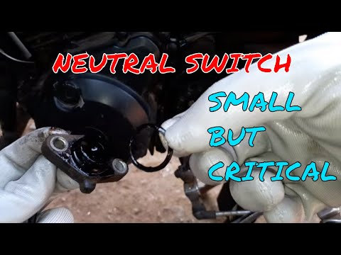 All About Neutral Switch Of Motorcycle