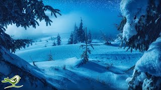 Calm Piano Music with Beautiful Winter Photos • Soothing Music for Studying, Relaxation or Sleeping