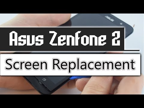 Asus Zenfone 2 Screen Replacement, Display change, Disassembly Full Guide