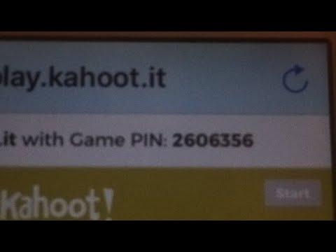Kahoot! Pin:2606356