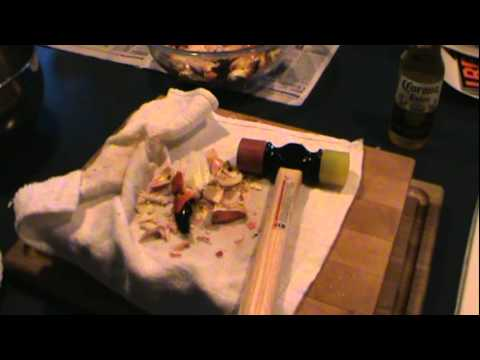 HOW I CRACK STONE CRAB CLAWS - KRAZY45CAT