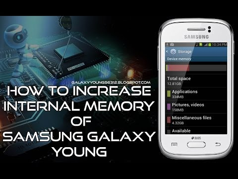 [ROOT] How to Increase the internal memory of Samsung Galaxy Young GT-S6312