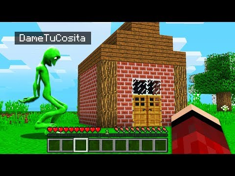 I FOUND DAME TU COSITA'S HOUSE in Minecraft Pocket Edition