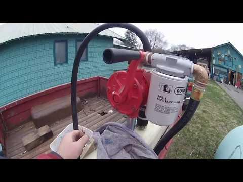 Fuel Tank Trailer Leak 2