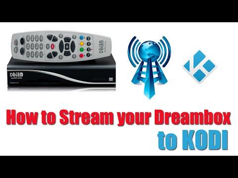 How to Stream Dreambox Satellite to KODI  XBMC