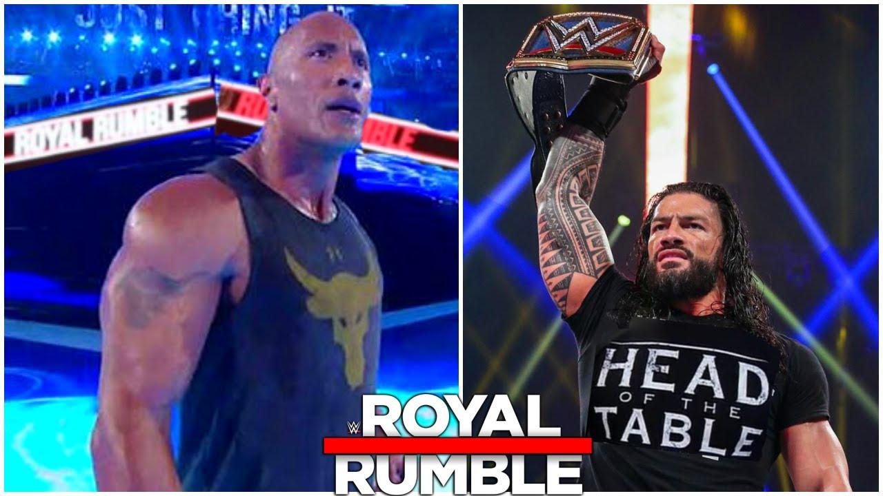 WWE Royal Rumble 2021 The Rock RETURNS | Royal Rumble 2021 RETURNS & WINNER |