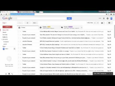 Creating a Gmail Desktop Shortcut