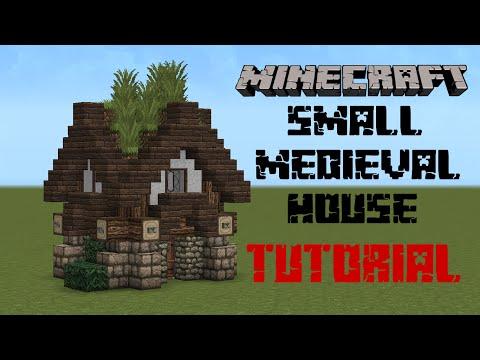 Minecraft - Medieval house tutorial