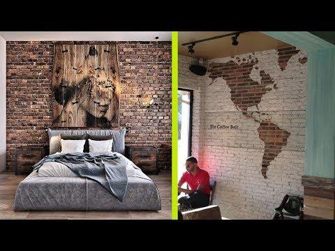Brick Wall Interior Home Designs - Brick Wall Decoration Ideas