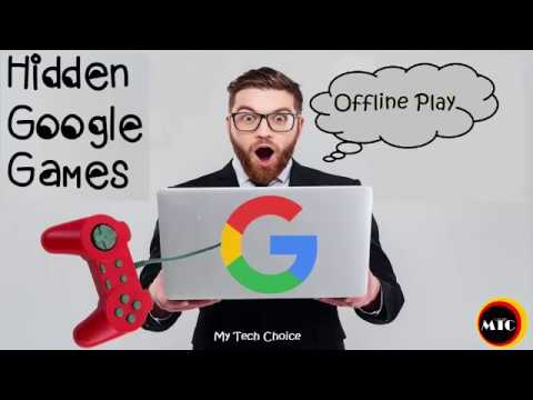 Hidden Games in Google Chrome Without Internet Connection Offline Play