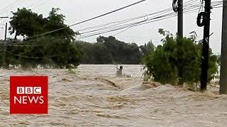 Super typhoon reaches the Philippines - BBC News