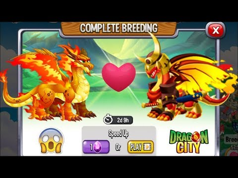 NEW BREEDING: Double Flame Dragon & Katsumoto Dragon [EXCLUSIVE BREEDING DRAGON]