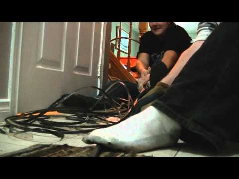 HOW TO STRIP COPPER WIRE - CABLE $350 IN 20 MIN
