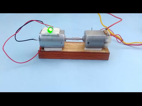 How To Make Electricity Generator With Dual Motor
