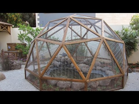 Geodesic Dome from wood Stage 6(part 1) - Dome assembly