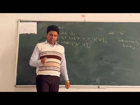 String in C language Lecture 27
