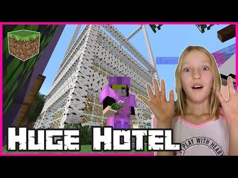 Making a HUGE Hotel / Minecraft