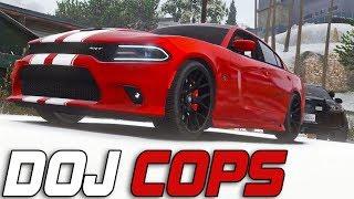 Dept. of Justice Cops #372 - Snowcat (Criminal)
