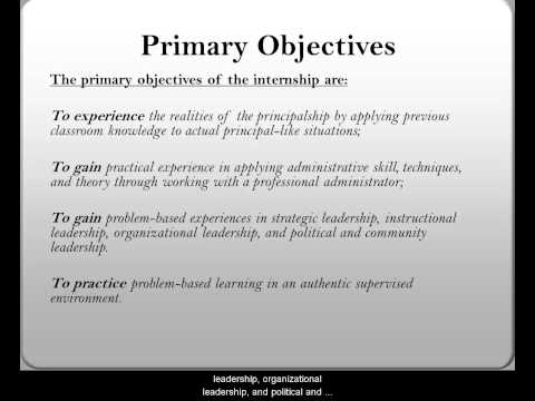1Purpose and Objectives of Internship
