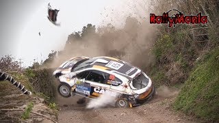 ERC Azores Airlines Rallye 2018 - CRASH, MISTAKES & BIG SHOW [HD]