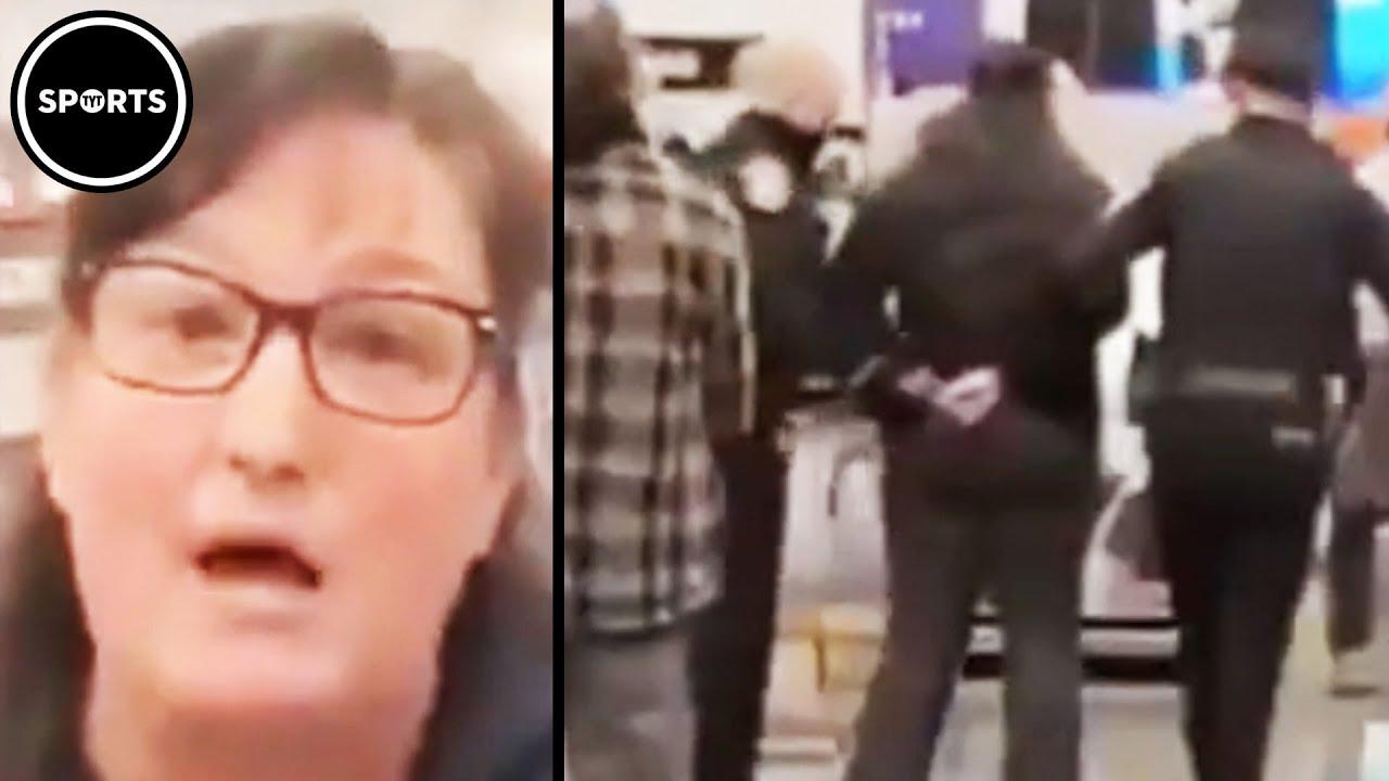 Anti-Masker Makes Ignorant Comment Then Gets Arrested