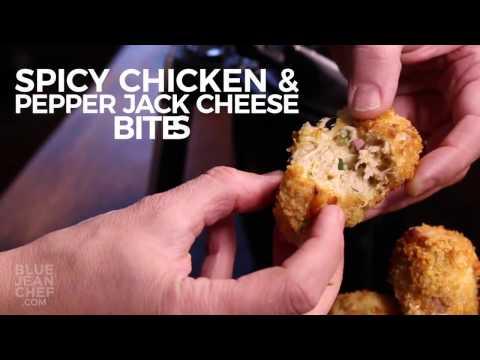 Spicy Chicken Pepper Jack Cheese Bites