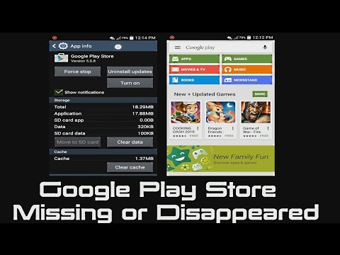 How to Fix Google Play Store Icon Missing or Icon Disappeared