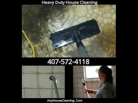 Heavy Duty House Cleaning Hoarder's Bathroom Cleaning. ACTUAL JOB