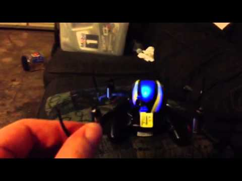 Testing nano quadcopter for motor problems