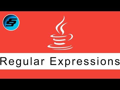 Regular Expressions - Java Programming