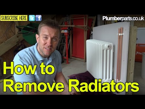 REMOVE A RADIATOR FOR PAINTING A WALL- Plumbing Tips