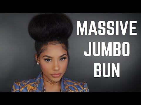HOW TO : MASSIVE JUMBO BUN (Talk Through)