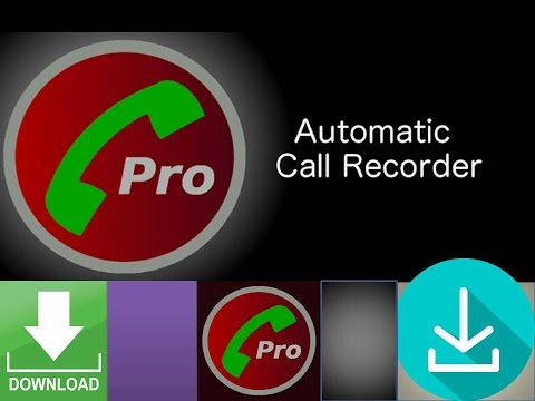 How to download automatic call recorder pro for free