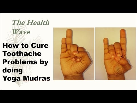 How to Cure Teeth Related Problems by doing Yoga Mudras