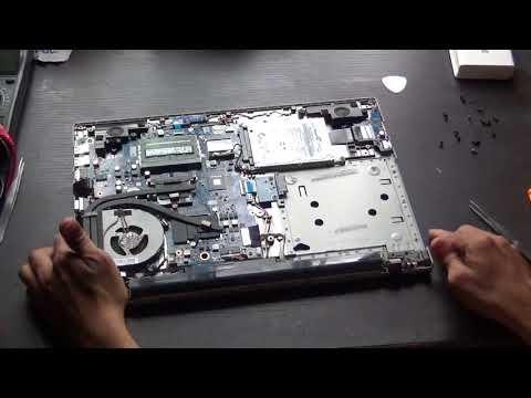 Lenovo ideapad Z510 Battery replace