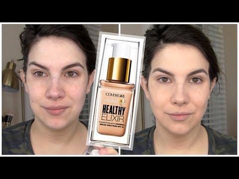 FULL REVIEW! CoverGirl Vitalist Healthy Elixir Foundation
