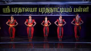 SRIBHARATHALAYA DANCE SCHOOL-ARRANGETRAM VIDEO