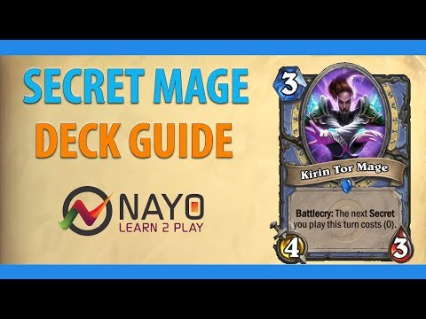 Hearthstone Secret Mage Guide