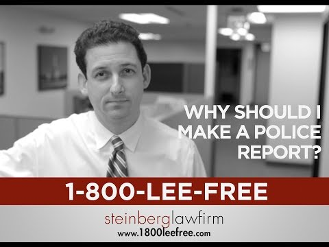Why File a Police Report after a Michigan Car Accident?