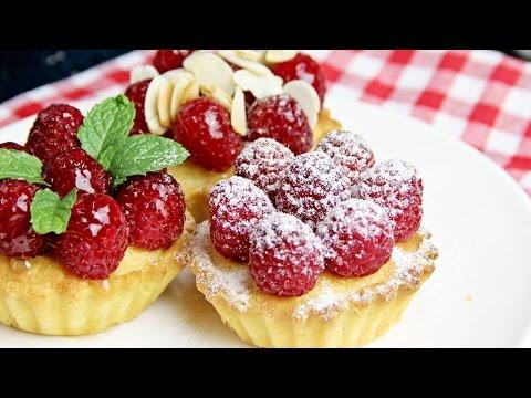Frangipane Tarts with Raspberries - Recipe By ZaTaYaYummy