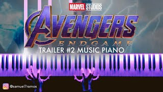 Download Avengers 4: Endgame - Official Trailer #2 Music (Piano) + SHEETS/SYNTHESIA Video