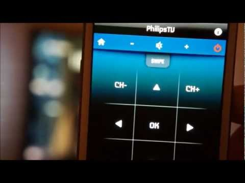 Philips My Remote App for Android (Samsung Galaxy S III)