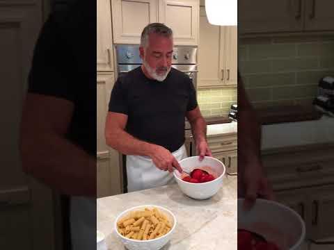 Rigatoni with Sausage, Tomato & Cream - Kenny Polcari