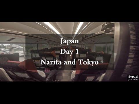 Japan - Day 1 (Narita and Tokyo)