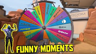 FUNNIEST MOMENTS IN VALORANT #59...