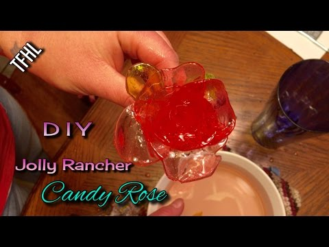 DIY Jolly Rancher Candy Rose (V406)