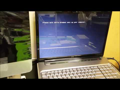 How to ║ Restore Reset a HP Pavillion DV7 to Factory Settings ║ Windows Vista