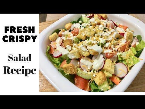 The best Salad Recipe Ever! Nazkitchenfun!!!