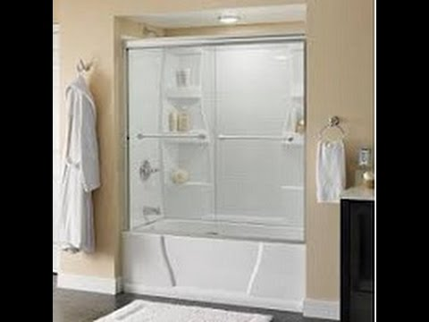 How to install a Delta Tub and Shower Sliding Glass doors
