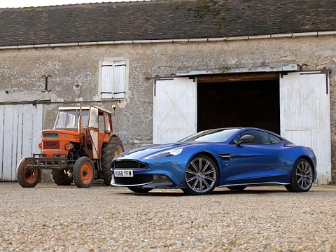 Essai Aston Martin Vanquish S 2017